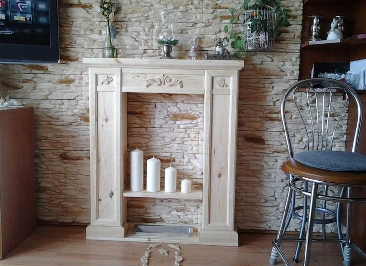 Декоративный камин в квартиру своими руками из картонных коробок и гипсокартона