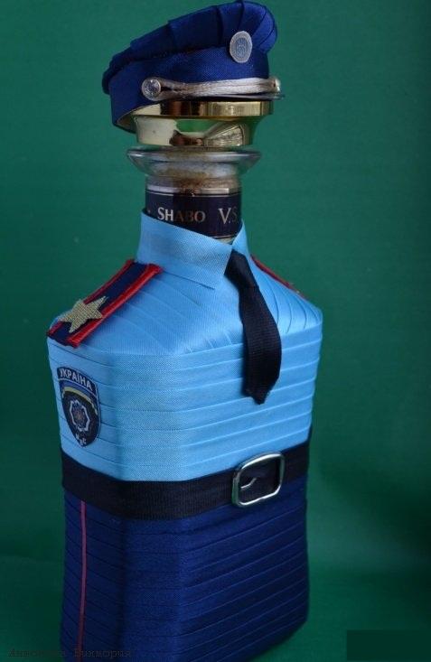 Подарки для полицейских своими руками