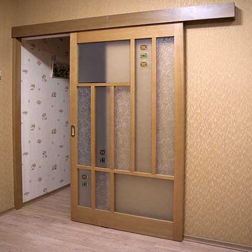 Как сделать дверь купе в комнату своими руками