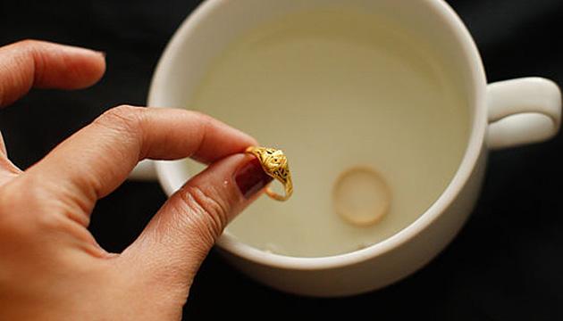 Как очистить золото от грязи в домашних условиях