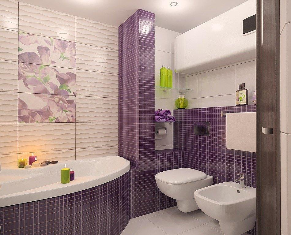 Красивая плитка в ванную комнату дизайн