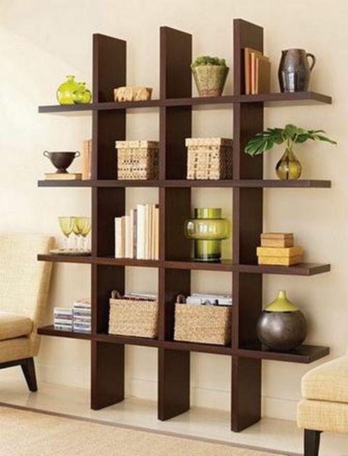 Металлические и деревянные стеллажи для дома и для книг
