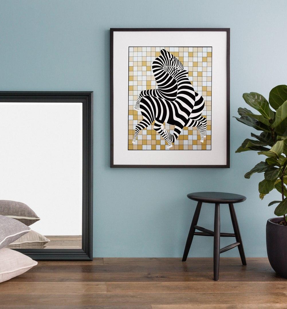 Постеры в интерьере квартиры