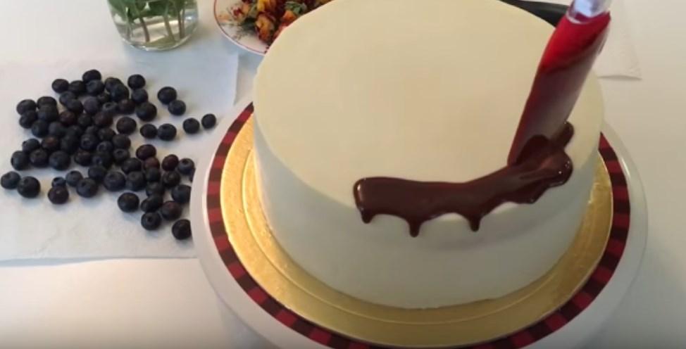 Торт украшаем бока в домашних условиях