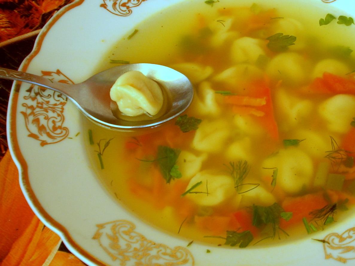 Куриный суп с клецками рецепт приготовления