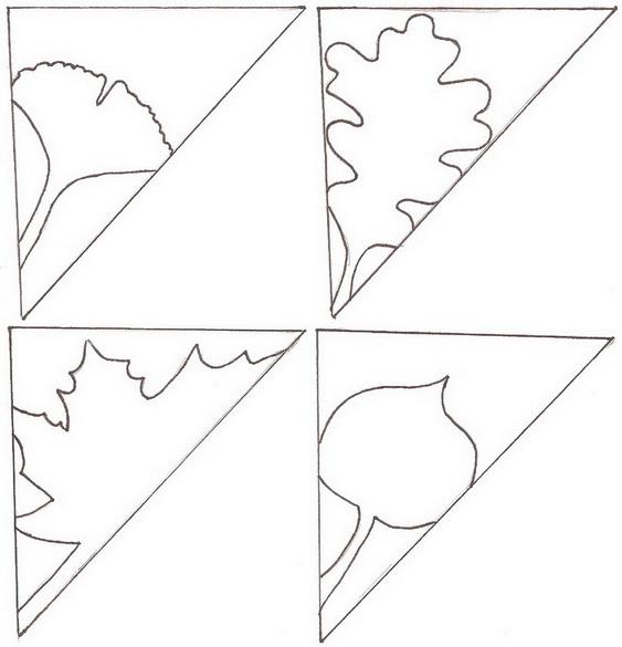 Схемы листочков