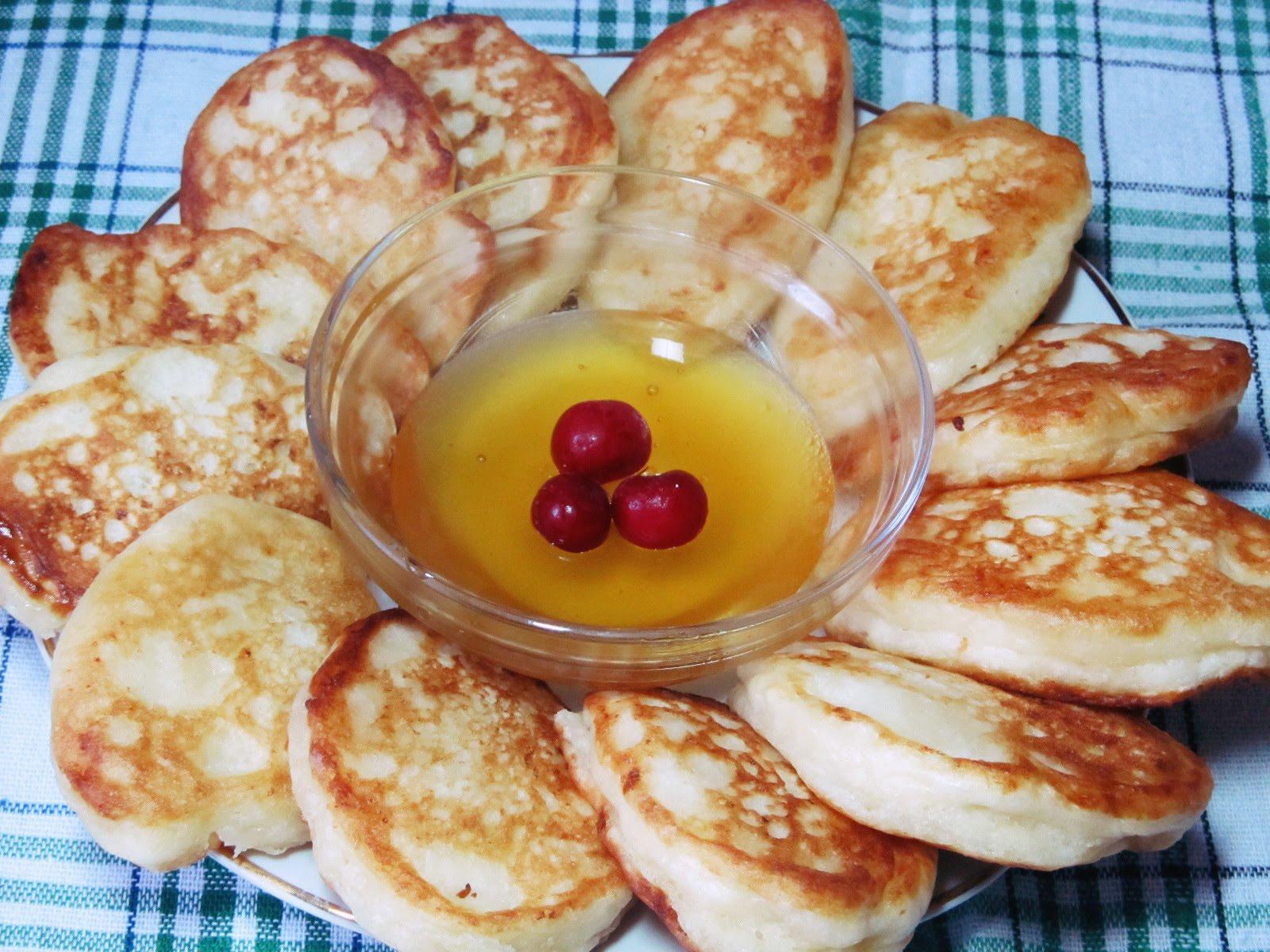 Рецепт оладиков без яиц