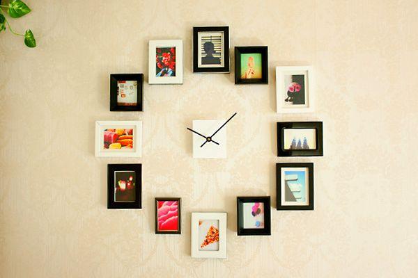 Часы из фотографий
