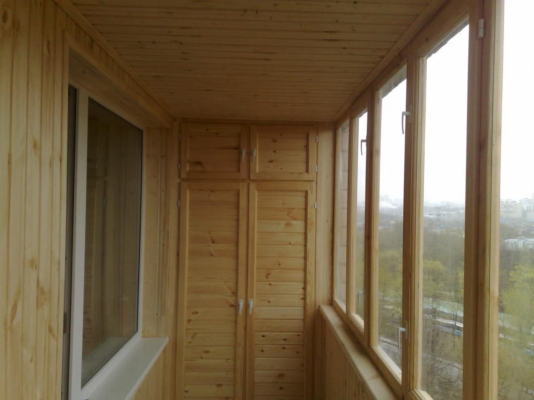 Внутренняя отделка балкона (лоджии). обшиваем балкон внутри .