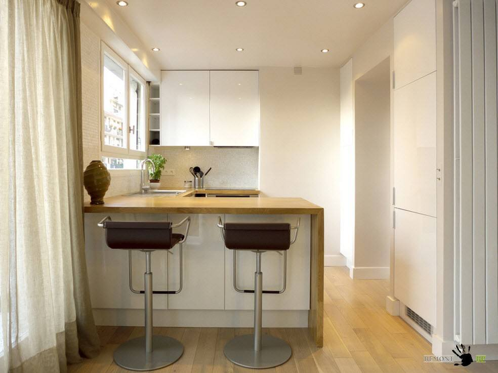 Барная стойка для маленькой кухни