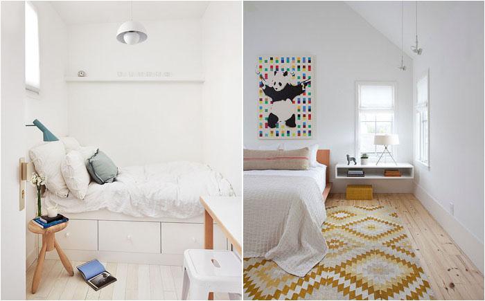 Интерьер спальни с колоритными акцентами