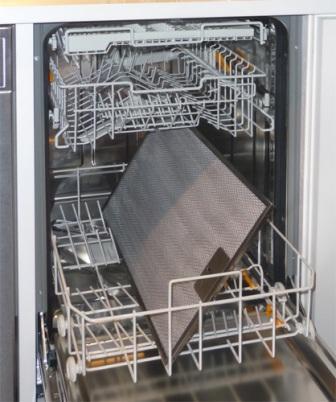 Количество лотков для посуды