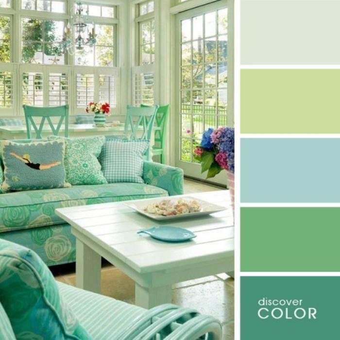 Пример использования таблицы цветов