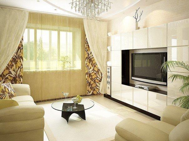 Светлый дизайн в квартире