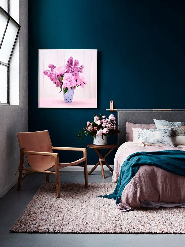 Постер с изображением цветов
