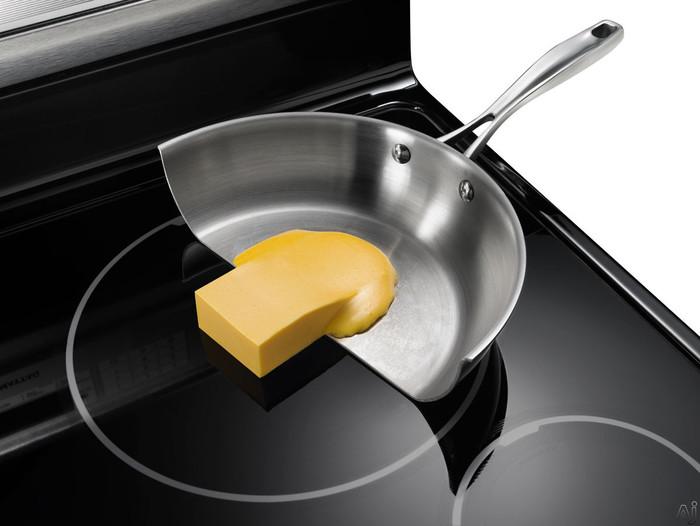 Нагретая сковорода