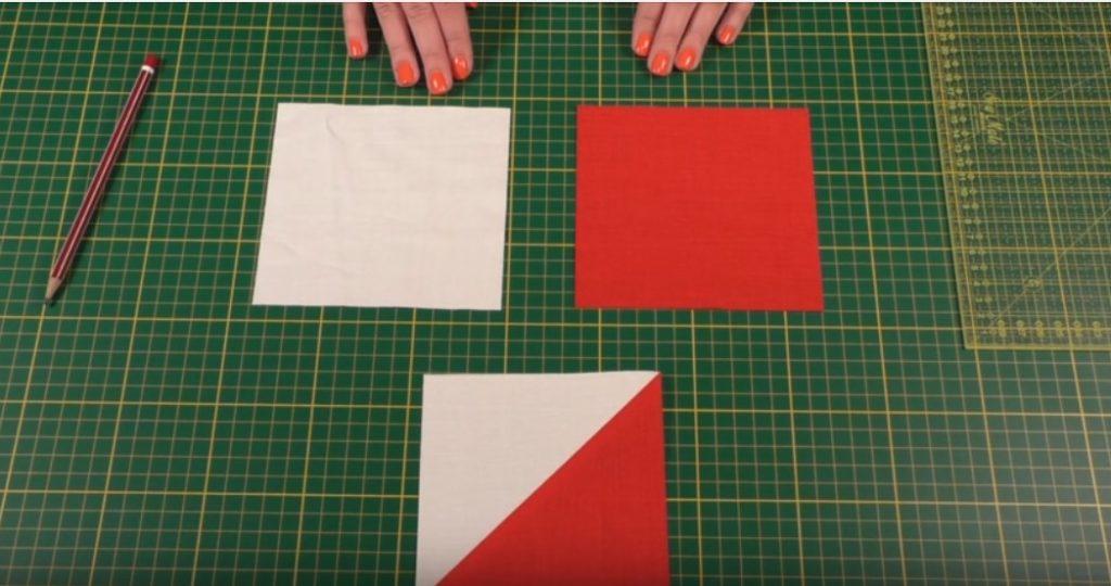 Блоки из треугольников