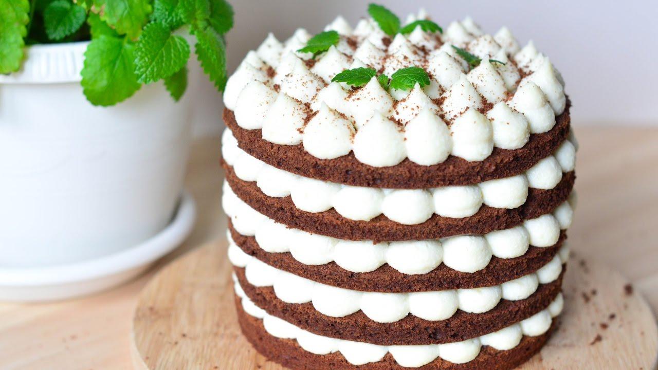 как сделать творожно сметанный крем для украшения выпечки и тортов