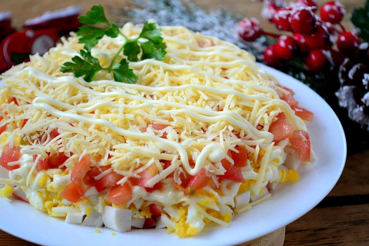 доступность подобной салаты очень простые рецепты с фото украшений она