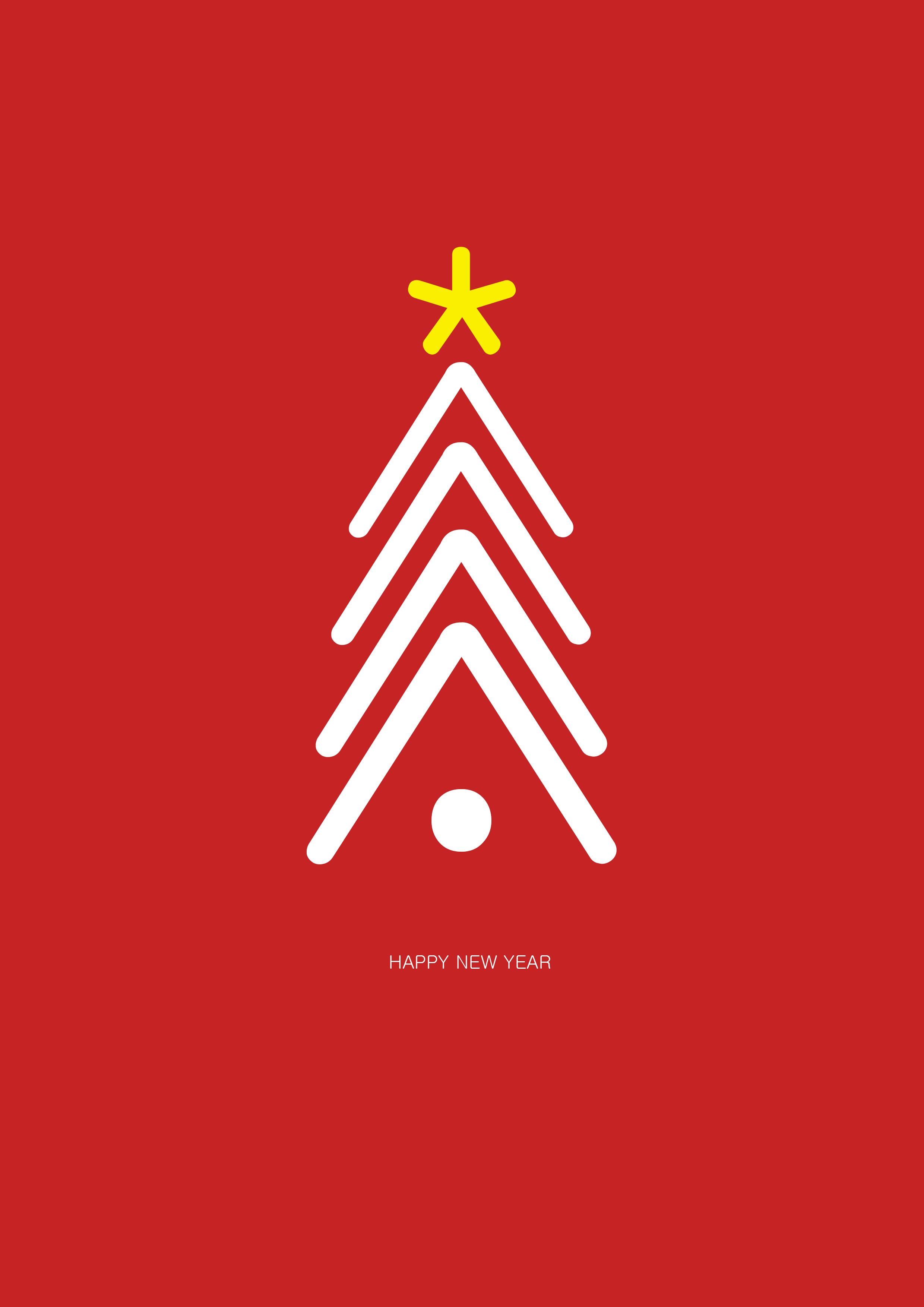 -открытка Новогодние открытки своими руками