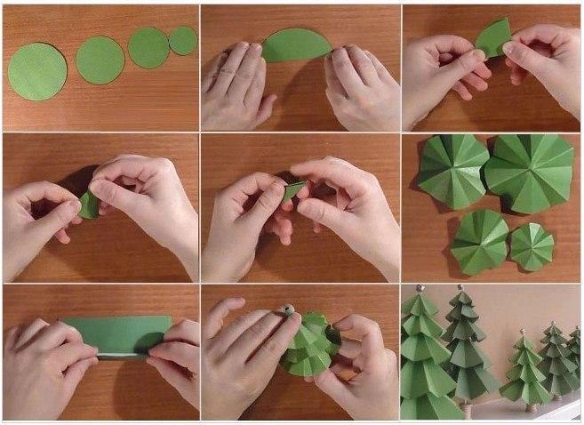 3 Елка своими руками - 145 фото интересных вариантов изготовления