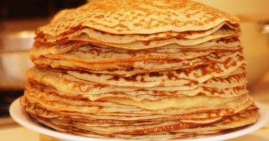 7 Rezepte Dünne Pfannkuchen Mit Löchern Auf Kefir