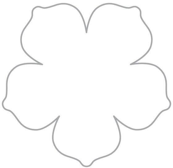 Как сделать большие бумажные цветы фото 887