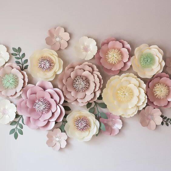 Ростовые цветы из бумаги своими руками фото 841