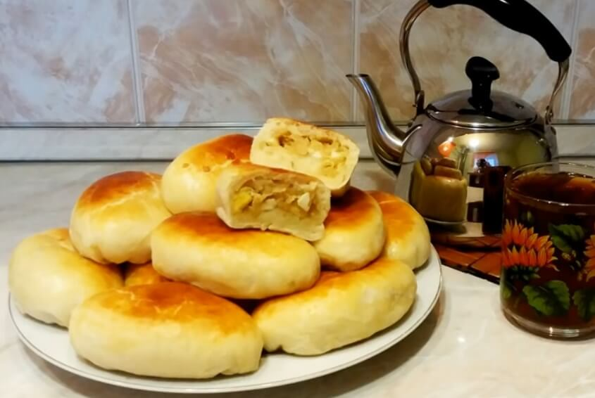 Как приготовить пирожки с капустой