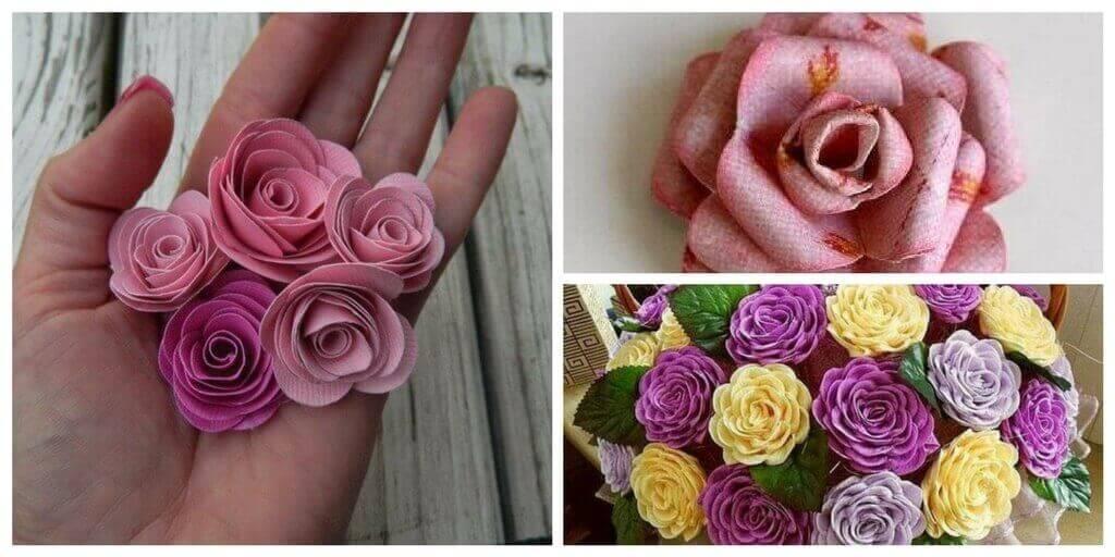 roza36 Как сделать розу из бумаги? Легко и быстро делаем бумажную розу своими руками