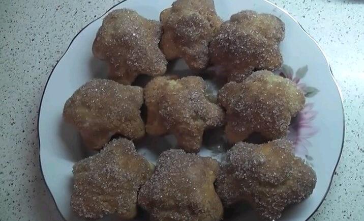 Слоеная завитушка с сахаром и мускатным орехом - рецепт пошаговый с фото