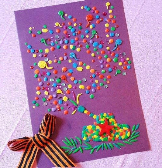 Детская открытка своими руками на день города, днем рождения