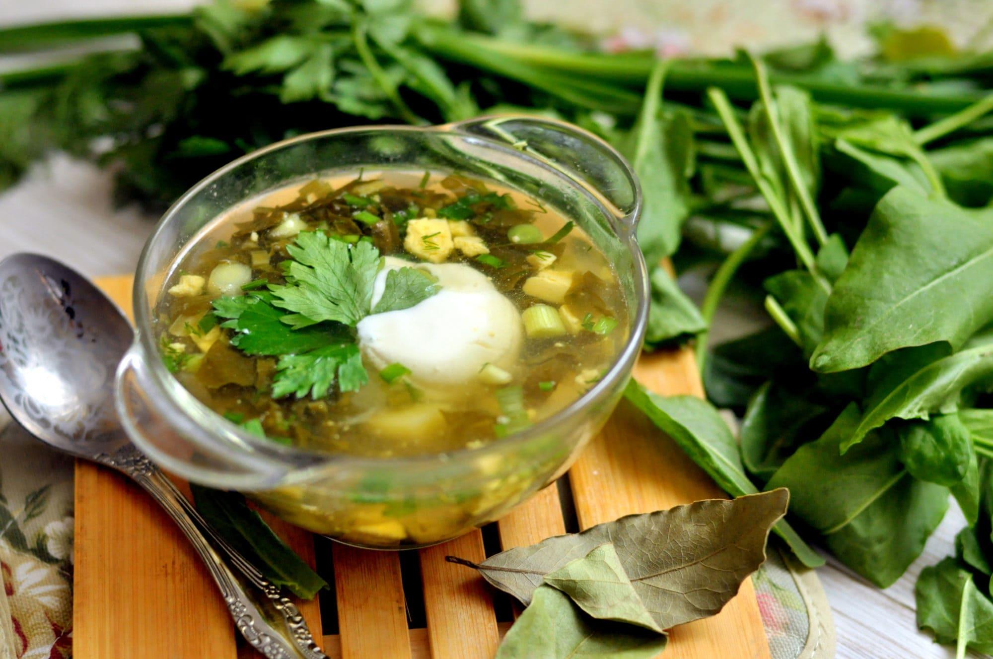 пять как приготовить щавельный суп рецепт с фото этом интересно