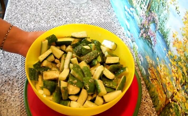 Огурцы в горчице на зиму - рецепт пошаговый с фото