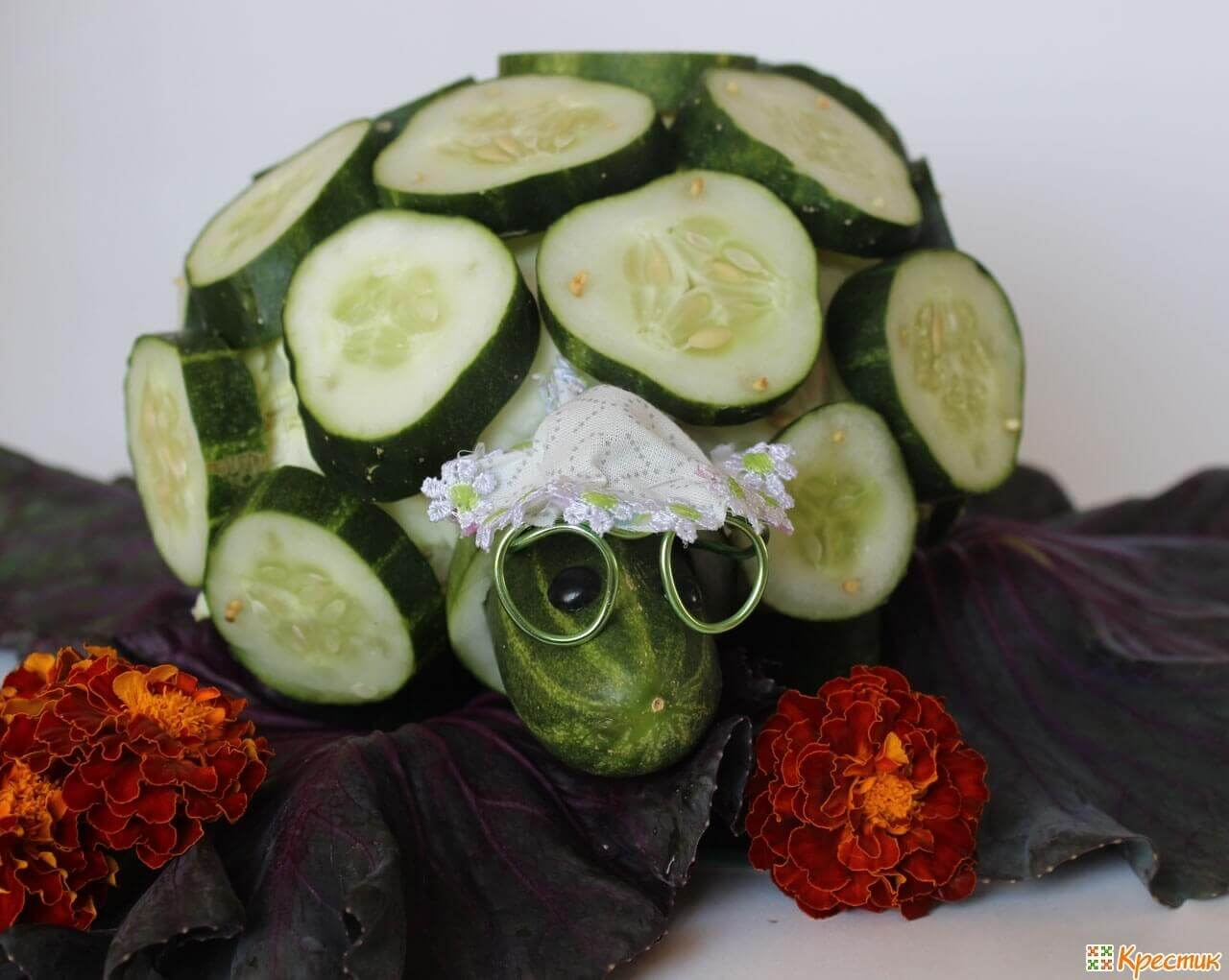 сочными делаем из овощей картинки ребят получилась веселая