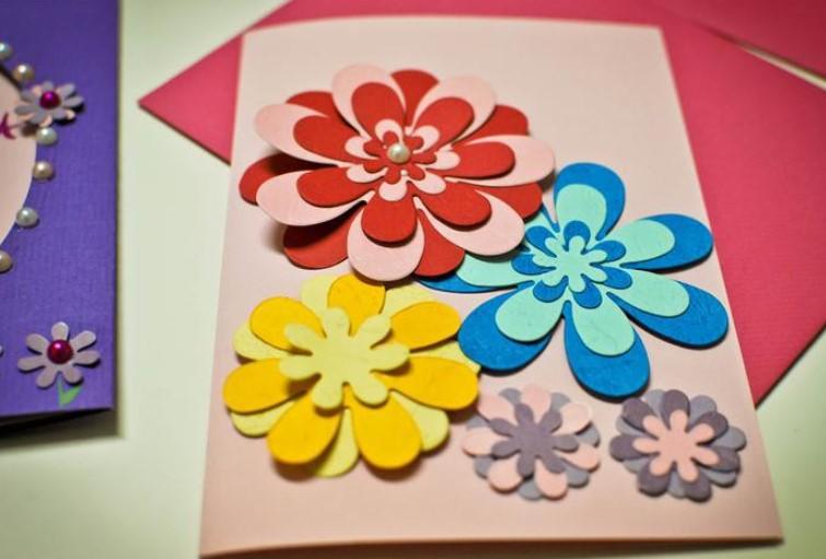 Картинки дней, открытка своими руками для праздника день мам