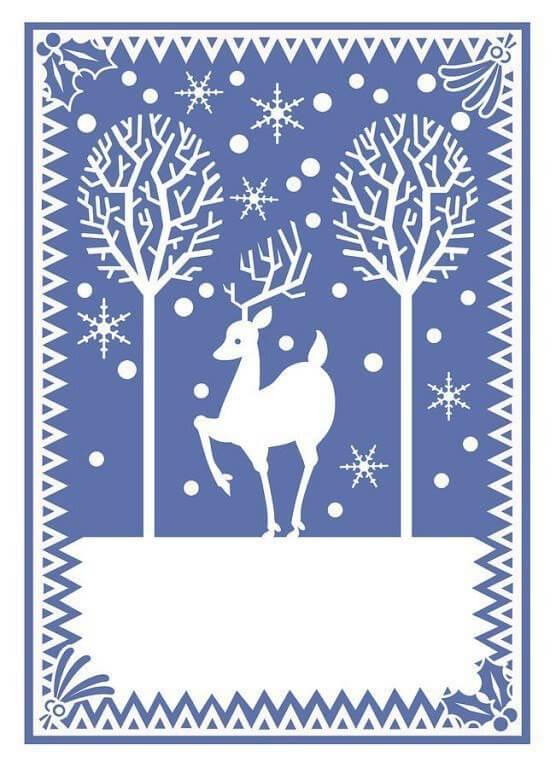 С новым годом открытка шаблон для вырезания, новый