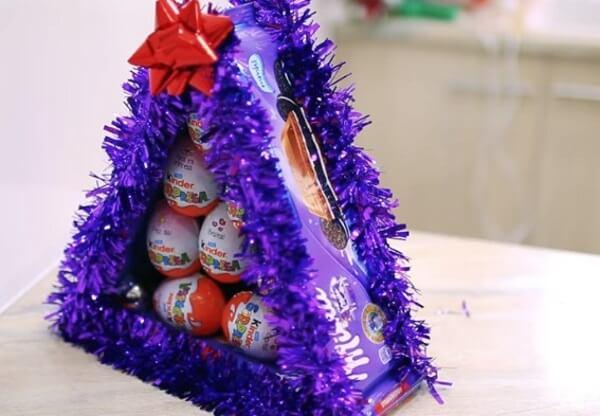 Подарок из сладостей – что можно сделать из конфет своими руками