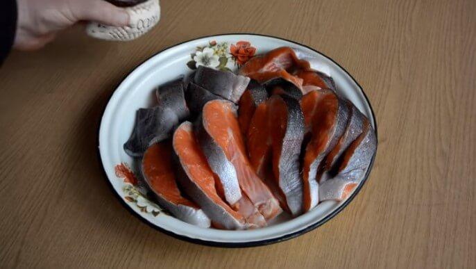 Сочная форель в духовке - рецепт пошаговый с фото