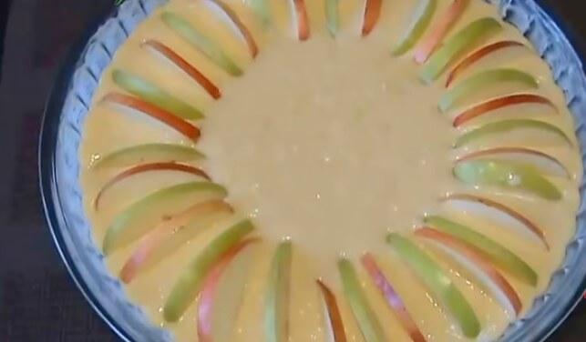 Пирог с творогом, с яблоками (9 рецептов творожно-яблочного пирога) || Пирог на сметане с творогом и яблоками