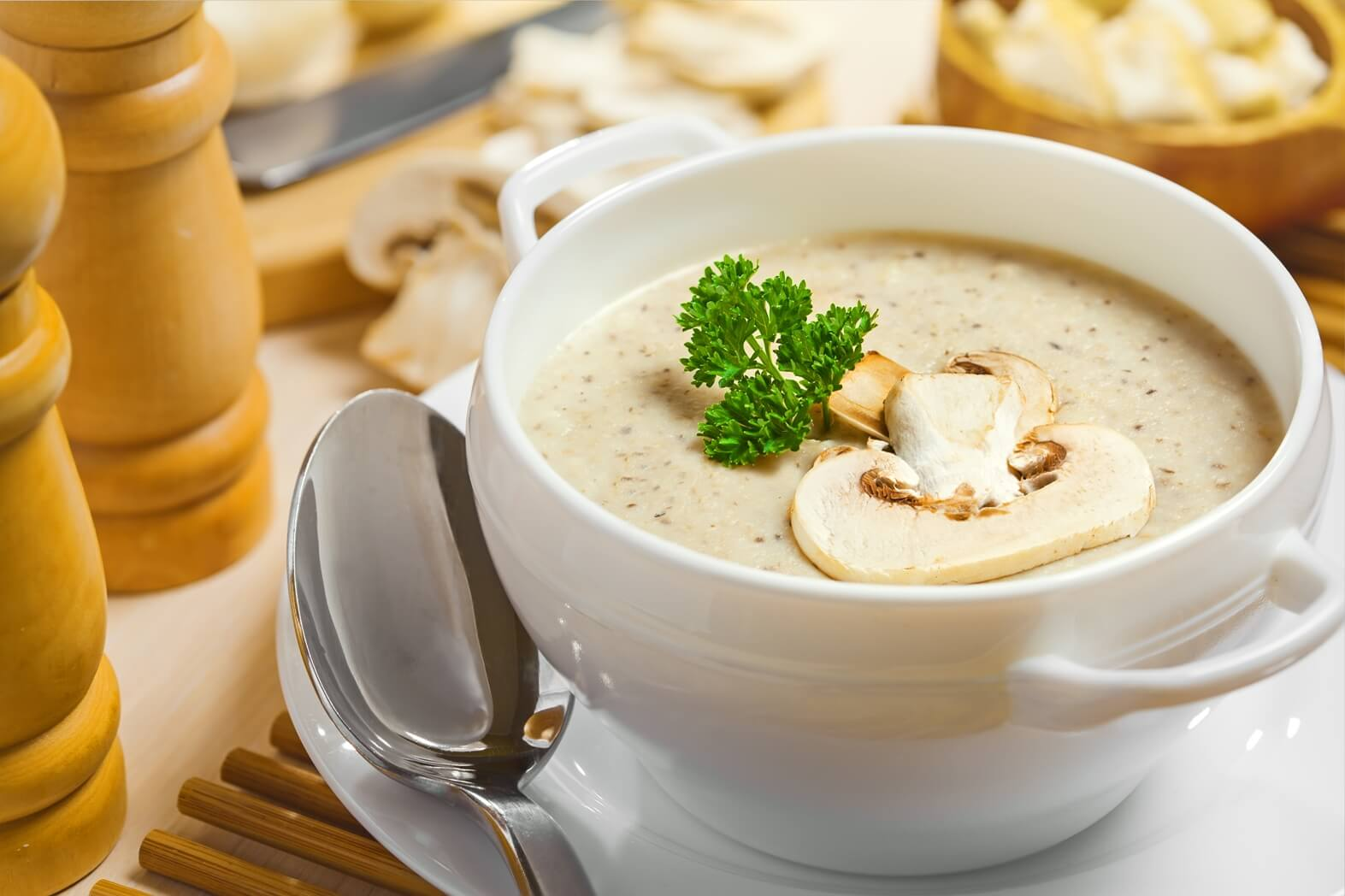 Суп пюре из шампиньонов рецепт классический