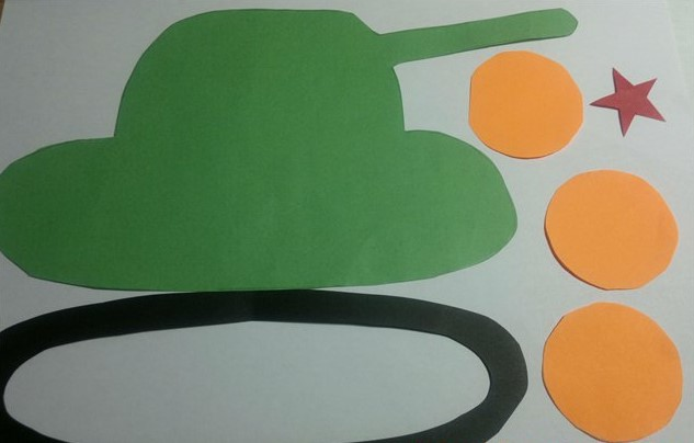 Открытка из бумаги танка, открыток дизайну
