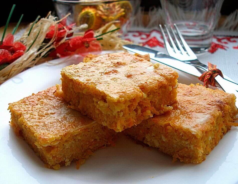 Морковная запеканка из сырой моркови рецепт. В духовке, запеканка морковная