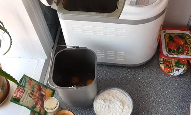Творожный кулич в хлебопечке