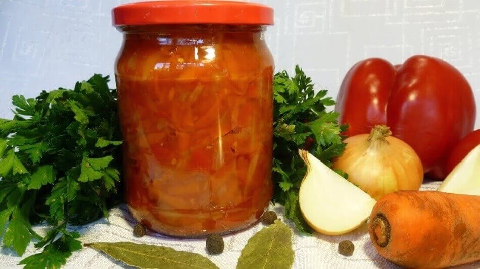 Лечо из помидор, перца, моркови и лука на зиму – рецепты «Пальчики оближешь»