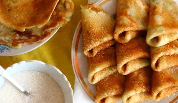 Блины из кабачков, рецепты кабачковых блинчиков быстро и вкусно