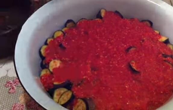 Салат баклажанный на зиму || Салат баклажанный на зиму