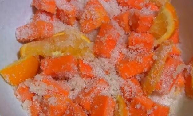 Цукаты из тыквы без варки