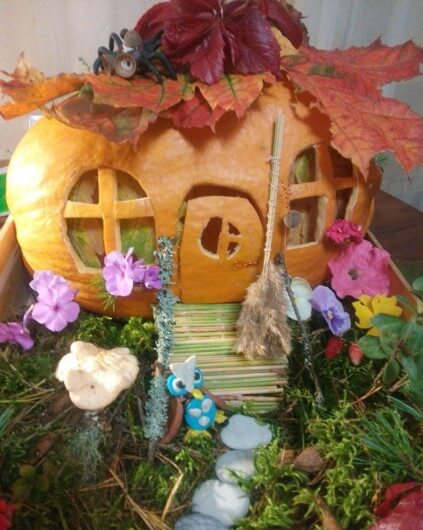 dddo Осенние поделки из тыквы своими руками: 12 красивых и оригинальных поделок из тыквы для детского сада и школы