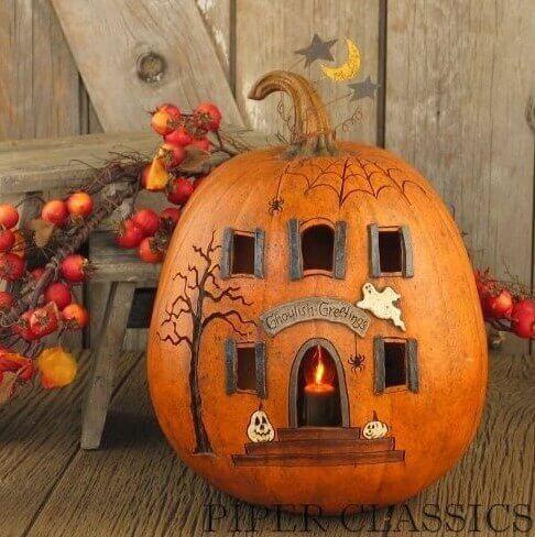 dom3 Осенние поделки из тыквы своими руками: 12 красивых и оригинальных поделок из тыквы для детского сада и школы